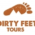 Dirty Feet Tours Logo
