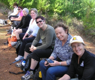 Get to know heaps of other walkers on our organised events.