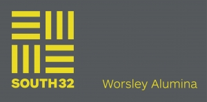 South 32 Worsley Alumina logo