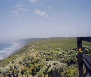 Wind Farm on the south coast.