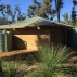 The new rammed earth design shelter